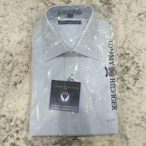 NWT Tommy Hilfiger blue dress shirt